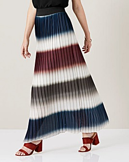 James Lakeland Pleated Maxi Skirt