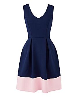 Closet Contrast Hem Dress