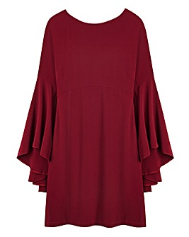 Swing Sleeve Dress - L