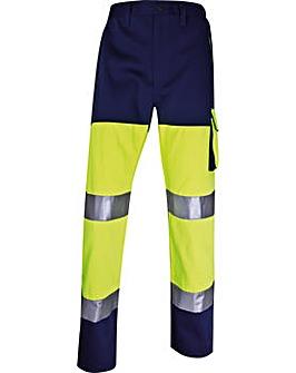 DeltaPlus Hi-viz trousers