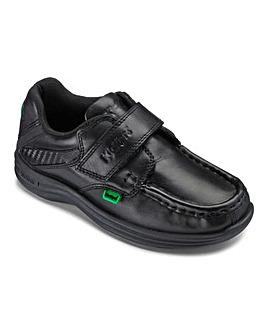 Kickers Reasan Strap School Shoes