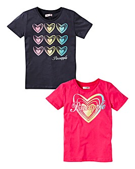 Pineapple Girls 2Pk Tee