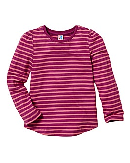 KD MINI Girls Stripe T-Shirt )2-6 years)
