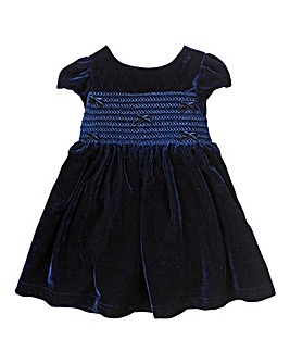 KD MINI Velour Occasion Dress (1-4 yrs)