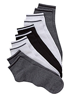 Jacamo Pack 5 Trainer Socks
