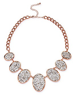 Statement Rhinestone Necklace