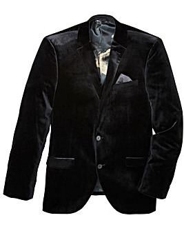 Black Label Velvet Blazer Regular