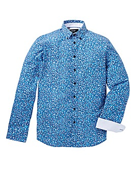 Black Label Spotty Long-Sleeve Shirt