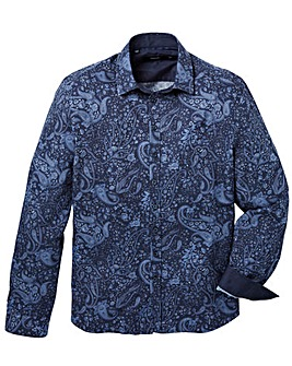 Black Label Dark Paisley Shirt Regular