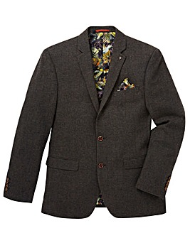 Black Label Tweed Blazer Long