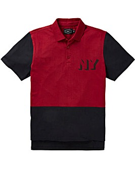 Label J Colour Block Polo Regular