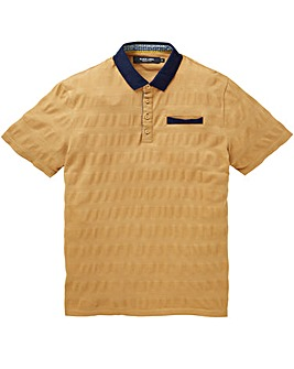 Black Label Textured Polo Regular