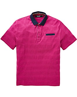 Black Label Textured Polo Long
