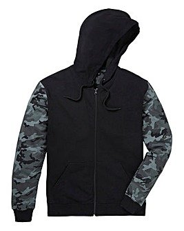 Label J Camo Sleeve Hoody Long