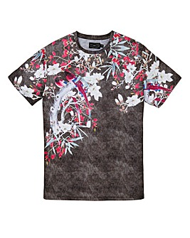Label J Birds of Paradise Print Tee