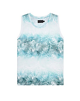 Label J Palm Print Vest Regular