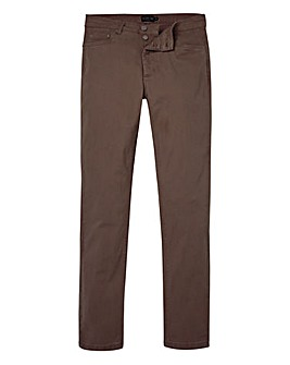 Label J Skinny Jean Taupe Regular