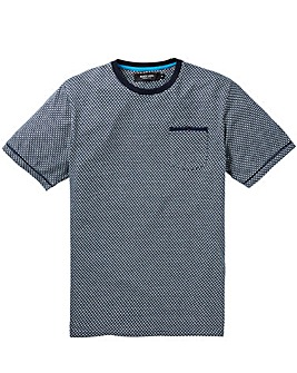 Black Label Jacquard Tee Regular