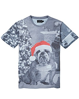 Label J Bulldog Xmas Tee Regular