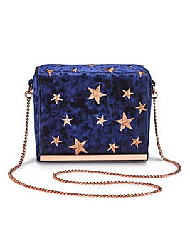 Star Embroidered Shoulder Bag