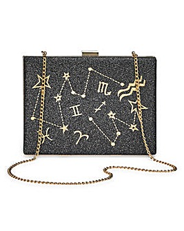 Star Sign Clutch Bag