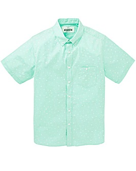 Jacamo Carlito S/S Printed Shirt Long