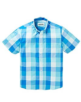 Jacamo Jericho S/S Check Shirt Long