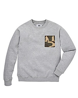 Jacamo Squad Pocket Sweatshirt Long
