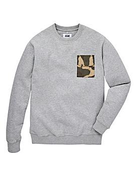 Jacamo Squad Pocket Sweatshirt Long