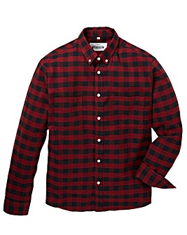 Jacamo Mason L/S Check Shirt Long