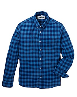 Jacamo Newton L/S Check Shirt Long