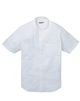 Jacamo Stretch S/S Grandad Shirt Regular