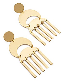 Statement Drop Stick Earrings