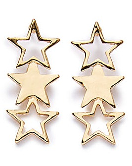 Star Drop Earrings