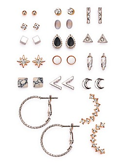 Multi Earrings Set