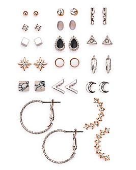 Multi Earrings Set