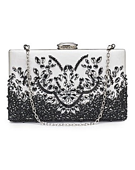 Joanna Hope Beaded Clutch Bag