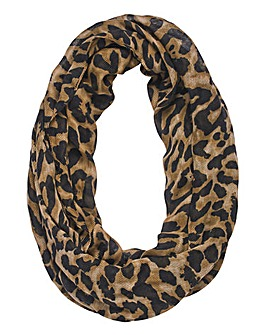 Leopard Print Snood