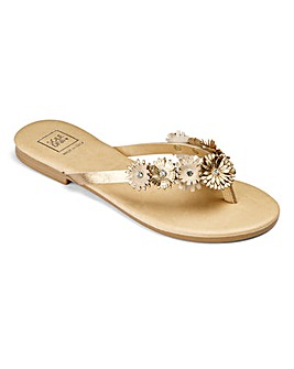 Sole Diva Floral Toeposts