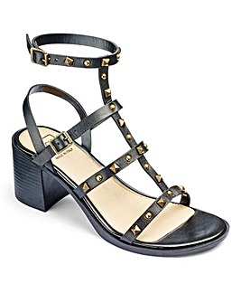 Sole Diva Block Heel Sandals