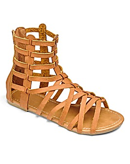Sole Diva Gladiator Sandals D Fit