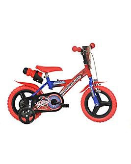 Marvel Spider-Man 12in Bike