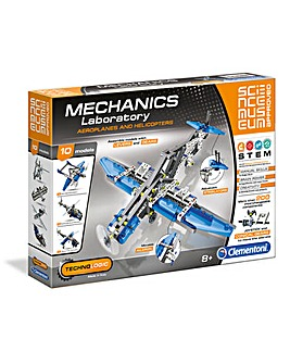 Mechanical Lab- Planes and Helicopters