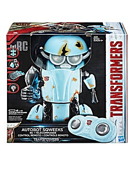 The Last Knight Autobot Sqweeks RC