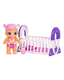 Little Live Busy Bubs Cute Crib