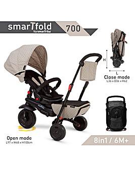 Smart Trike Folding 700 Series - Blue