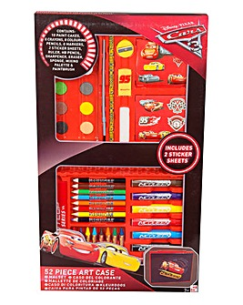 Disney Cars 52 Piece Art Case
