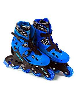 Elektra In Line Skates Blue - Medium 13J