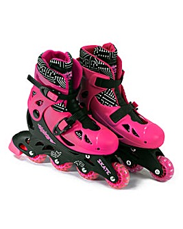 Elektra In Line Skates Pink - Medium 13J
