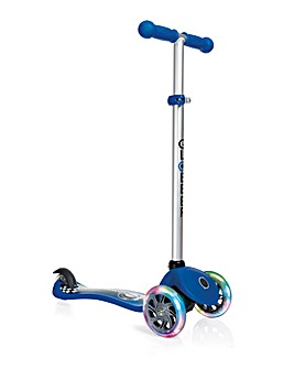 Globber Scooter - Racing Navy Blue